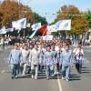 Колонна горняков прошла по центру Павлограда
