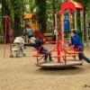 На «Хіммаші» відкрито  Дитячий ігровий майданчик « Веселі дітлахи»