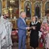 Вдові отця Валентина вручили документ про присвоєння йому звання «Почесного громадянина міста»