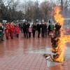 Павлоградцы проводили зиму