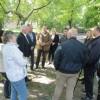 Робоча зустріч у сквері Шевченка
