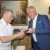 Міський голова привітав з життєвим ювілеєм Сіліча Юрія Васильовича