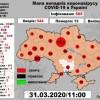 Коронавірус в Україні на 31.03.2020 року