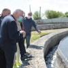 Міський голова з журналістами перевірили роботу очисних споруд