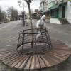 У Павлограді проводиться санітарна обробка об'єктів благоустрою