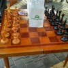 У місті з'явився майданчик для гри в шахи