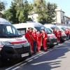Нові автомобілі швидкої допомоги — подарунок до Дня міста