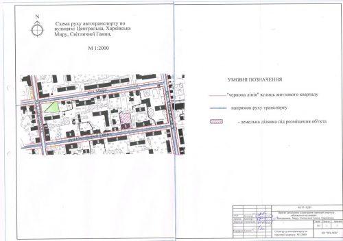 схема руху автотранспорту