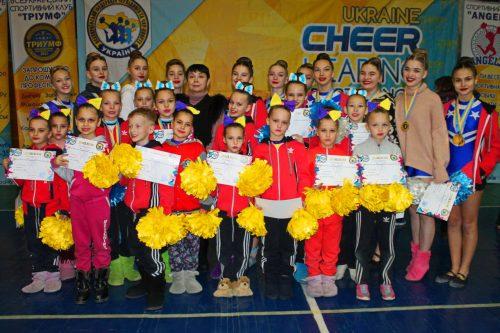 Павлоградці стали призери кубку області з черлідингу та чир-спорту, фото-1