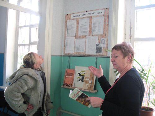 Павлоград Стенд памяті жертв голодомору 3