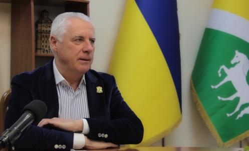 Павлоградський міський голова А. Вершина